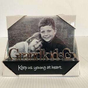 """GRANDKIDS Photo Frame 4"""" x 6"""" Glass MALDEN"""